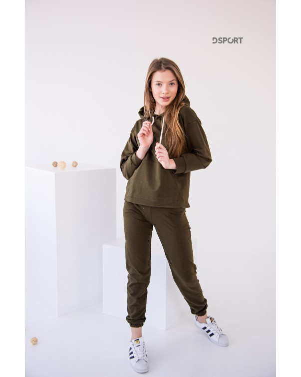 Спортивный костюм iDial style хаки 427