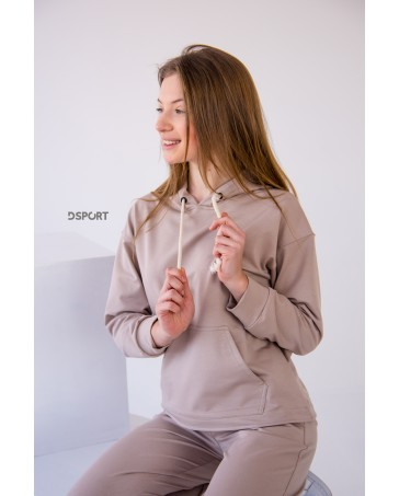 Спортивный костюм iDial style бежевый 427