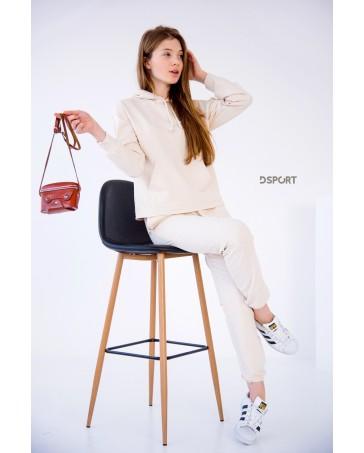 Спортивный костюм iDial style молочный 437