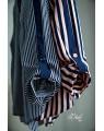 Блуза-рубашка женская iDial style 195 пудра