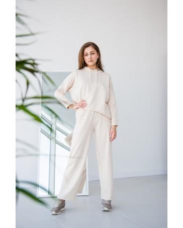Женский спортивный костюм iDial style 438 молочный