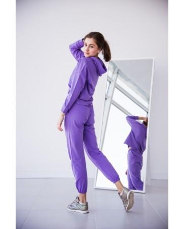 Женский спортивный костюм iDial style 439 фиолетовый