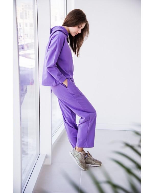 Женский спортивный костюм iDial style 438 фиолетовый