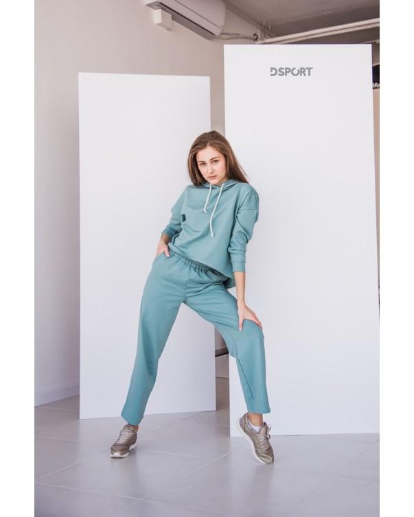 Женский спортивный костюм iDial style 438 бирюза