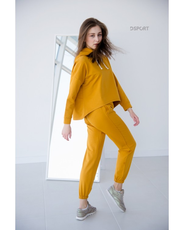 Женский спортивный костюм iDial style 439 горчица