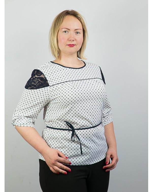 Блузка больших размеров 95.1