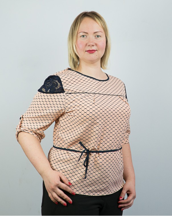 Блузка больших размеров 91.1
