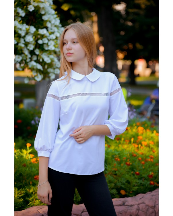 Женская блуза 823 iDial style белая