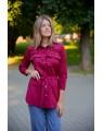 Женская блуза 776 iDial style бордо