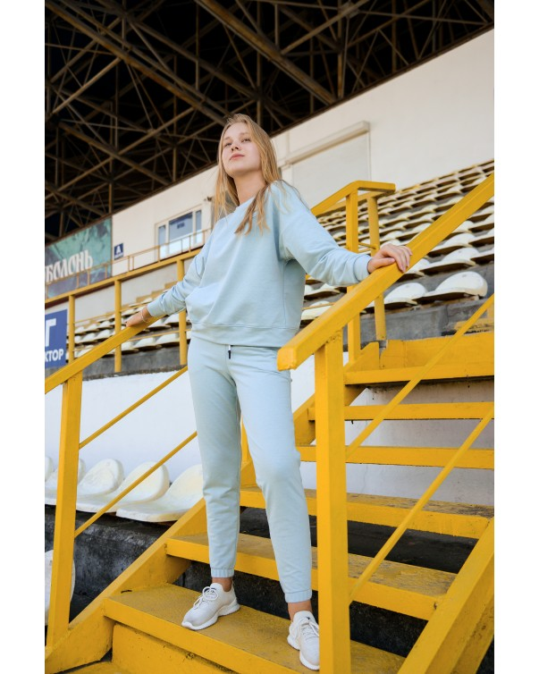 Спортивный костюм iDial style голубой 426