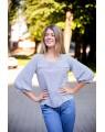 Женская блуза 799 iDial style светлая