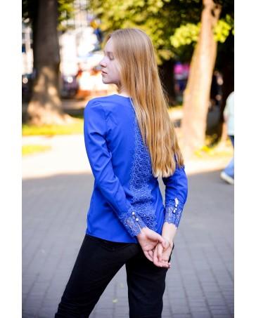 Блуза женская 733  iDial style синяя