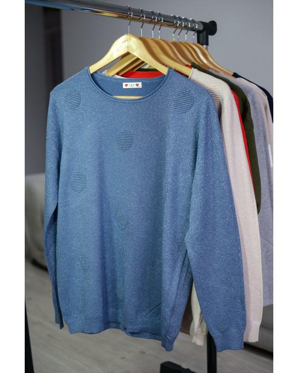 Женская кофта 753 iDial style синяя