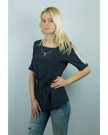 Женская блуза iDial style с кружевом вдоль спинки 10.2