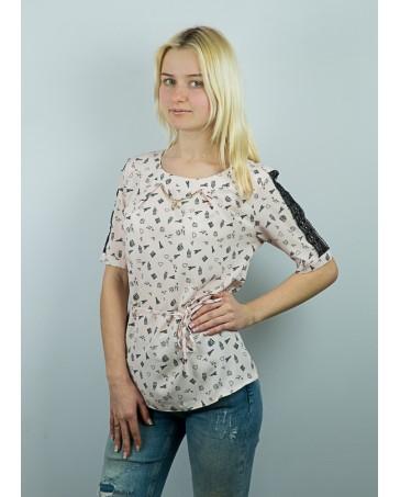 Женская блуза iDial style с гипюром 10.2