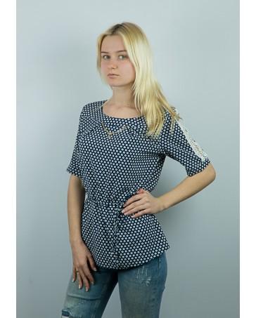 Женская блуза темно-серая iDial style Рита 10.2