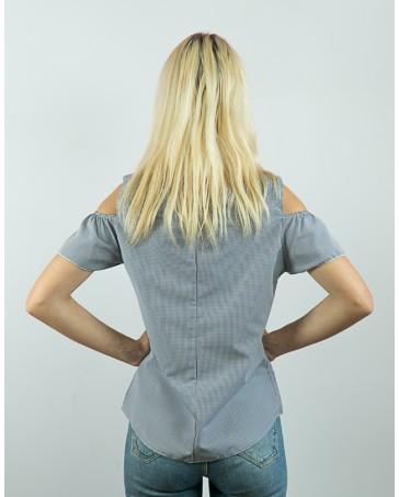 Женская блуза серая iDial style Ники 85