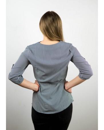 Женская блуза iDial style в полоску арт.16