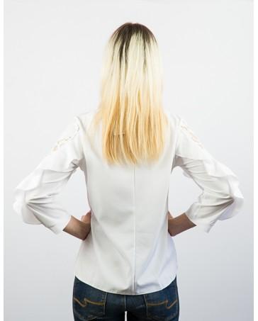 Женская блуза белая iDial style Ирма 80