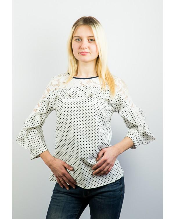 Блузка с рюшами код 80