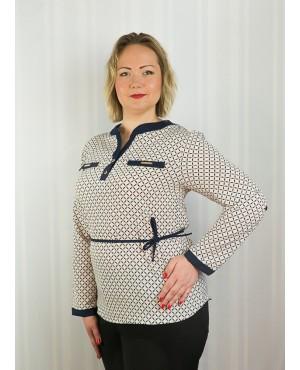 Женская блуза 16 батал