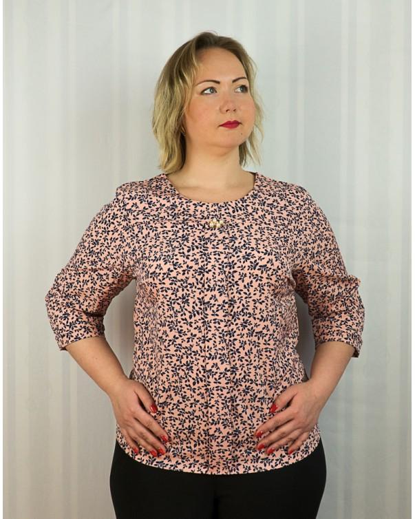 Блузка больших размеров код94