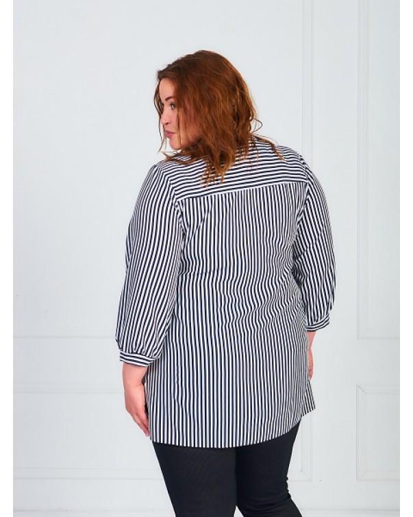 Женская блуза iDial.style полоска 789