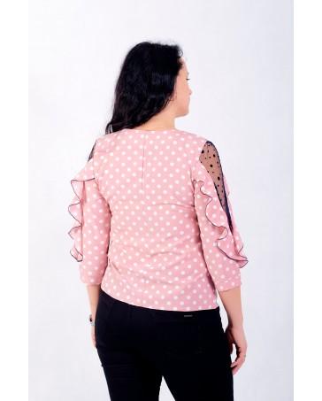 Женская блуза iDial style розовая 080