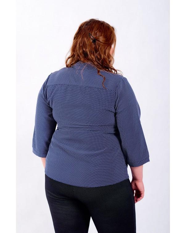 Женская блуза iDial style синяя 16/1б