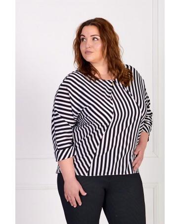 Женская блуза iDial.style в полоску 0522