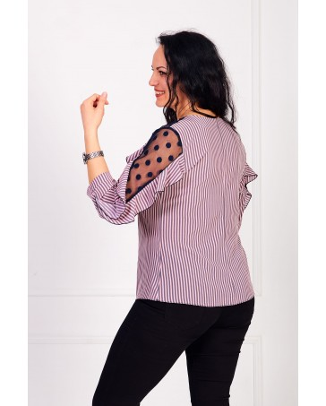 Женская блуза iDial style кокетка 509/1