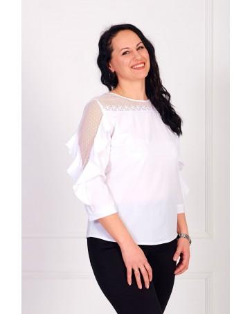 Женская блуза iDial style белая 03