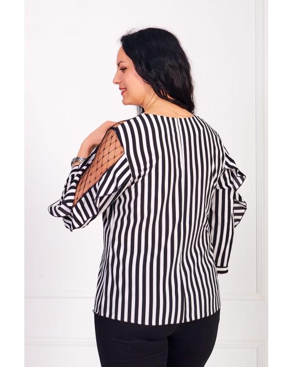 Женская блуза iDial style зебра 509/1