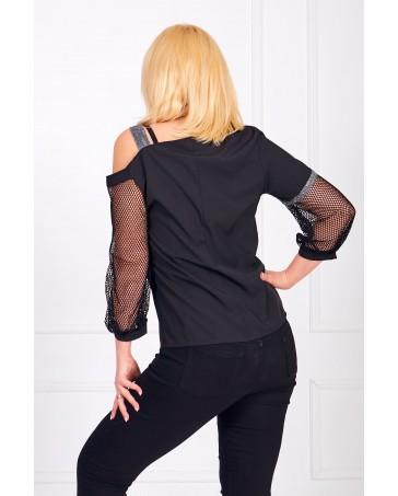 Женская блуза iDial style с сеткой 01
