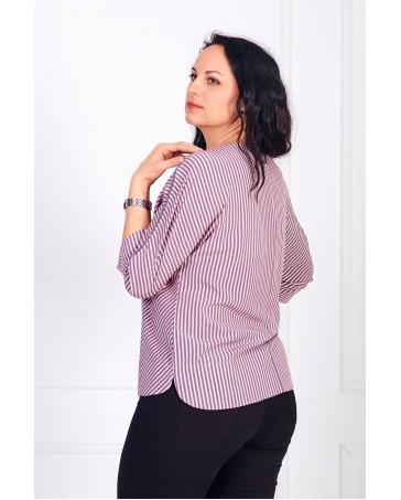 Женская блуза iDial style в полоску 0784