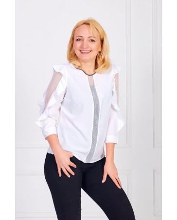 Женская блуза iDial style белая 0508