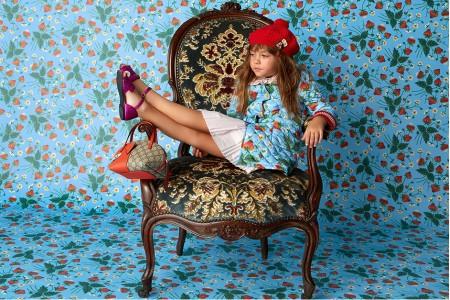Детская мода лето - весна 2016 «Цветочный базар»