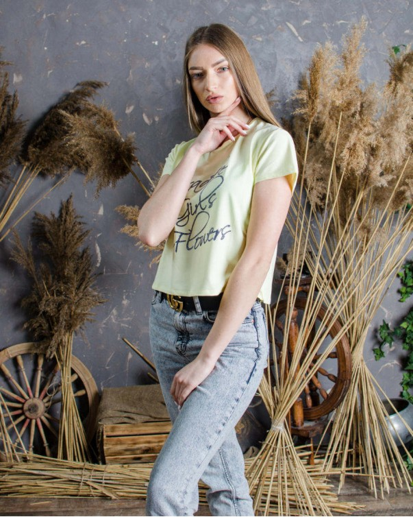 Женская футболка iDial style Paradise 009