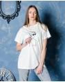 Женская футболка iDial style удлиненная 0419