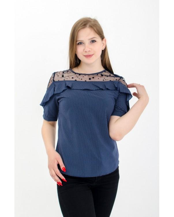 Женская блуза с рюшей iDial style 80/2