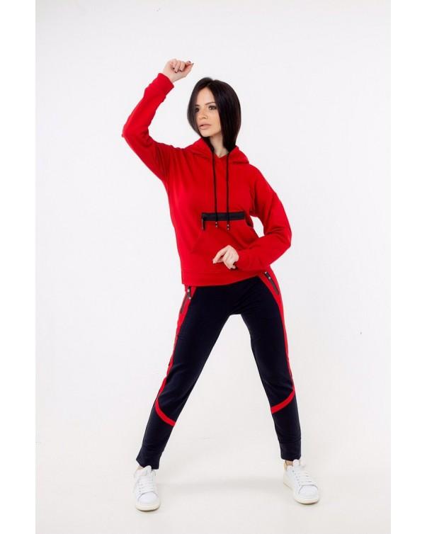 Спортивный костюм iDial style 20/362 красный
