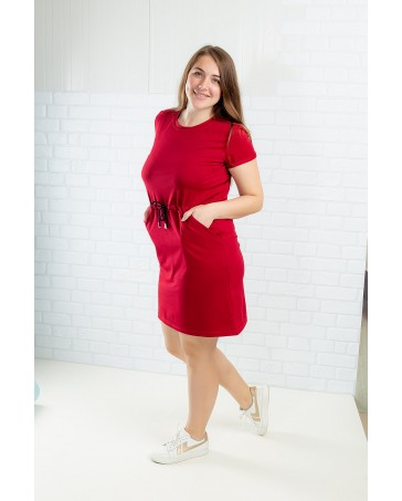 Платье-туника  iDial style 20/470 красная