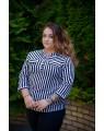 Блуза женская  iDial style полосатая 526