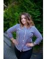 Блуза женская  iDial style полосатая 795