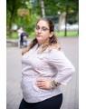 Женская блуза 526 iDial style светлая