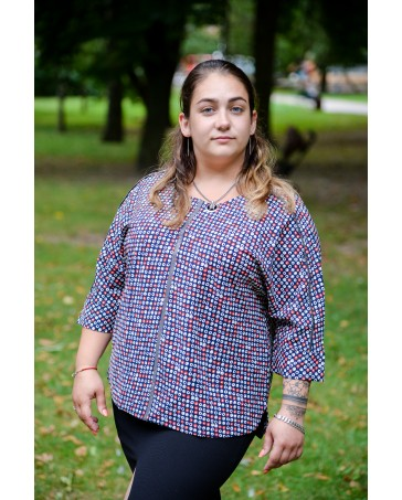 Женская блуза 502 iDial style батал