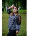 Женская блуза 222 iDial style бутылочная