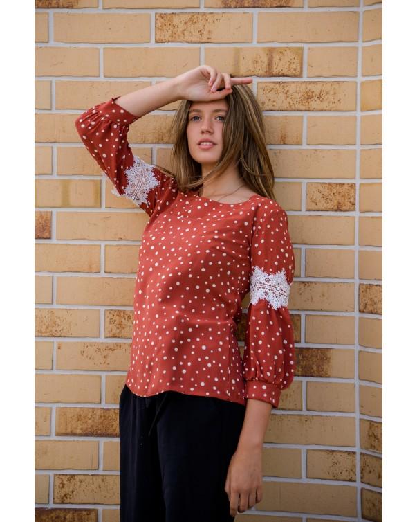 Женская блуза 0819 iDial style
