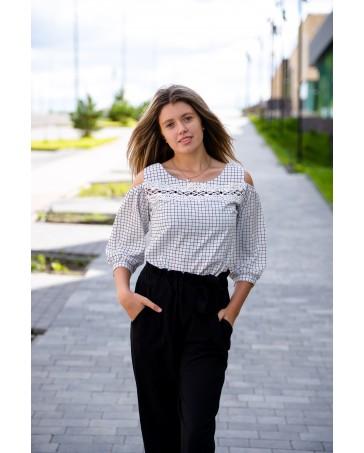 Женская блуза 85  iDial style в клетку