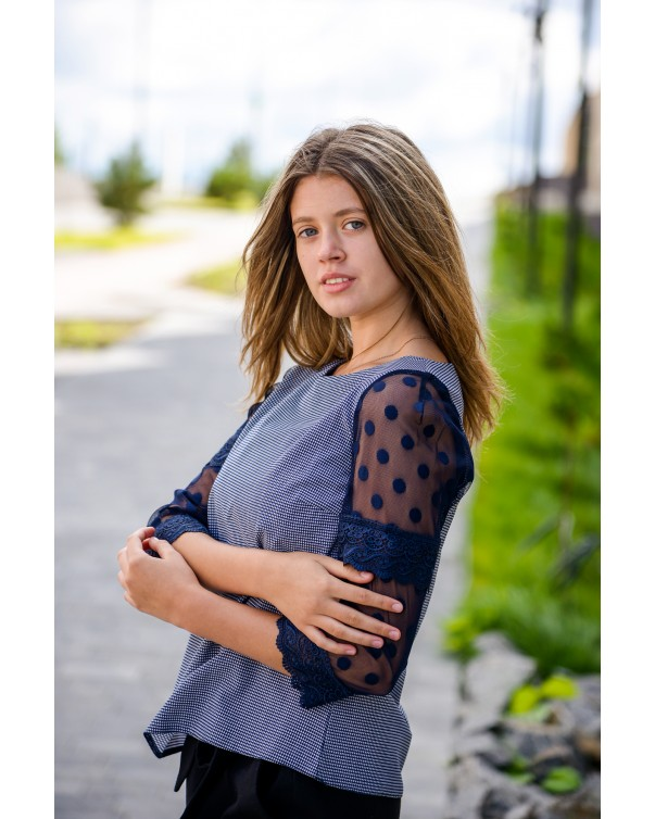 Женская блуза 518iDial style нежная